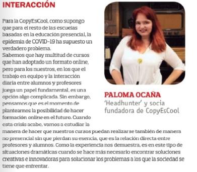 1.Paloma Entrevista